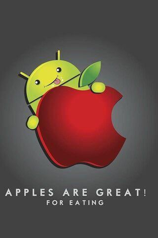 खाने का सेब