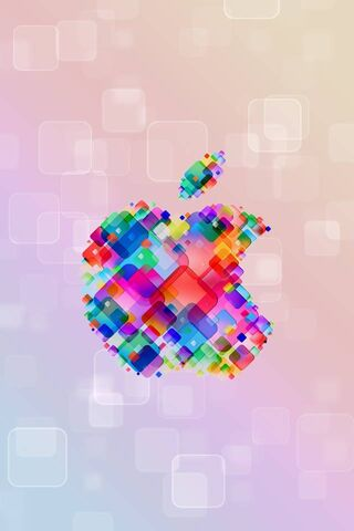 Colorful Apple