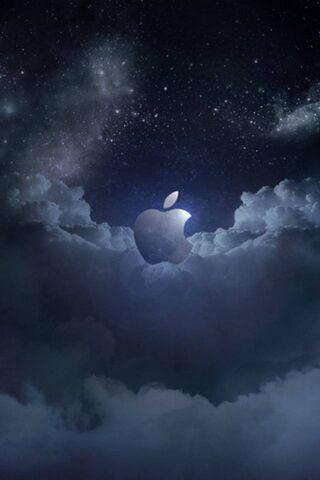 Яблоко темное небо
