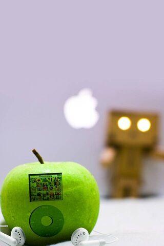 Prawdziwe logo Apple