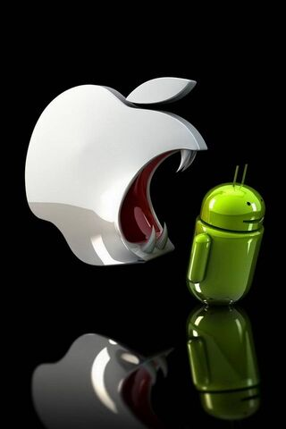 Apple mangia Android
