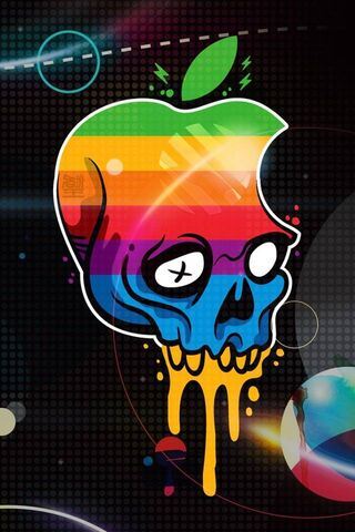 Logo Iphone Skull