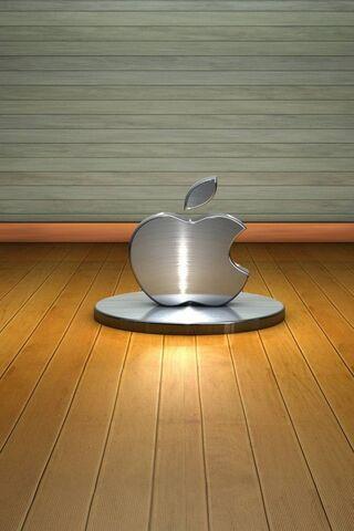 सिल्वर एप्पल लोगो