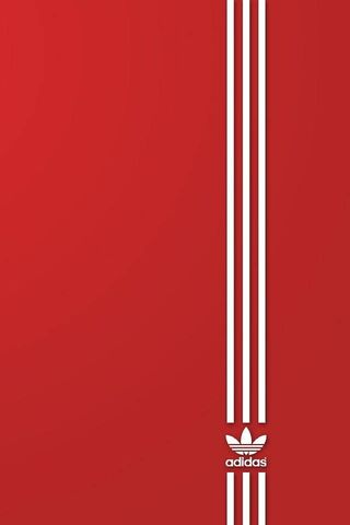 Adidas Red and White
