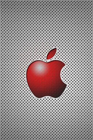 लाल सेब की जाली