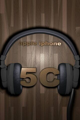 Apple Iphone 5c Wood