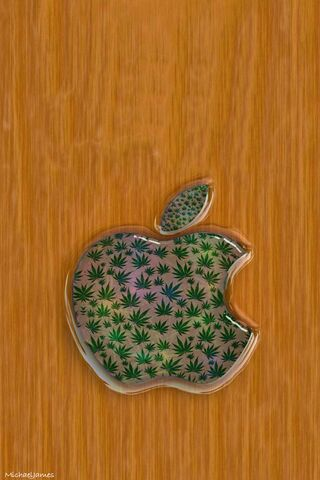 Wood and W**d Apple