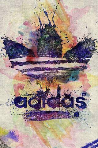 Стильный логотип Addidas
