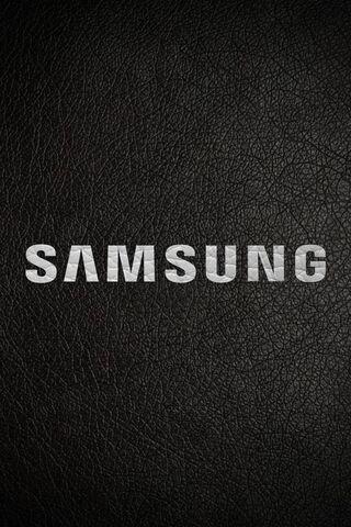 Samsung Black Leathe