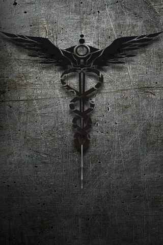 Tribal Caduceus