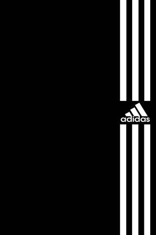 Adidas White Stripes
