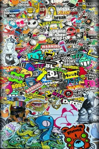 Наклейка графіті