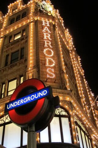 Harrods and Tube