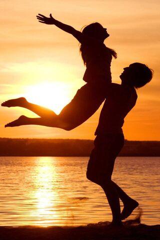 Couple Love N Sunset
