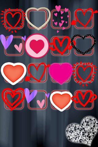 Hearts Shelve