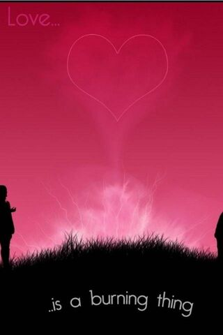 หัวใจสีชมพู