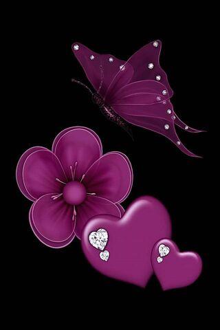 Dark Purple Love
