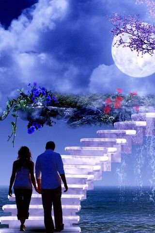 Luv Couple In Heaven