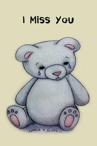 I Miss You Bear