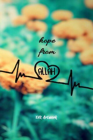 अल्लाह से आशा