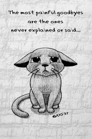 Goodbye Cat -Art