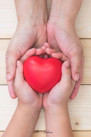 Trái tim trong tay
