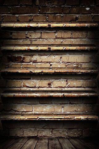Brick Wall Shelve