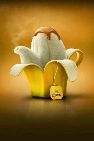 شاي الموز
