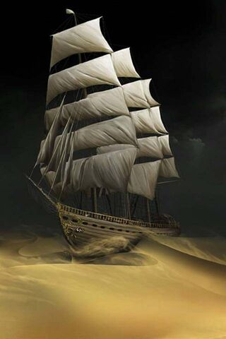 Sailing The Sands