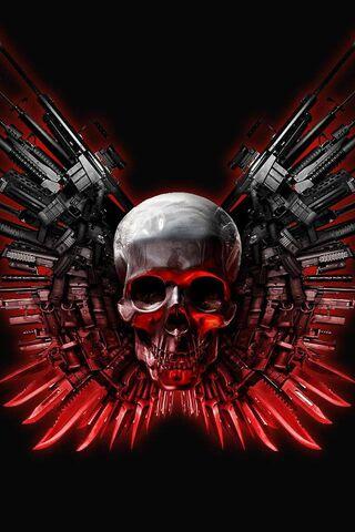 Waffen Schädel