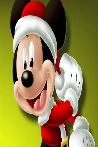 Micky Mouse Xmas