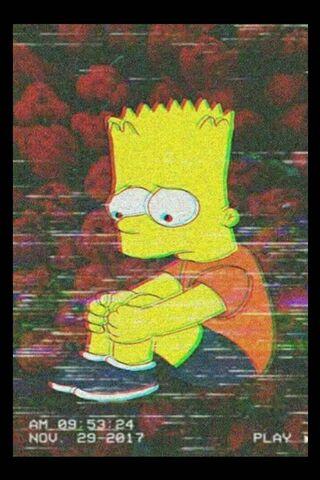 Trauriger Bart