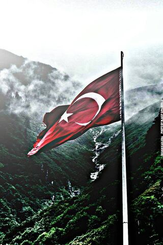 Phoneky Türk Bayrağı Hd Wallpapers