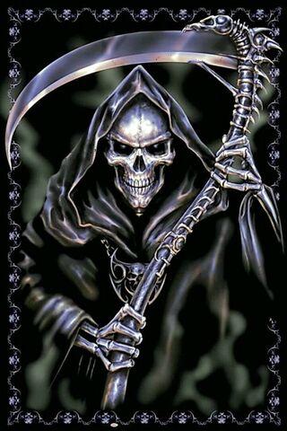 Kafatası Grim Reaper
