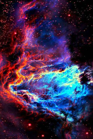 真实空间星云