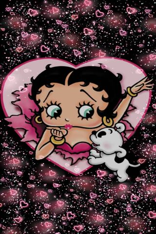 Betty Boop Pink