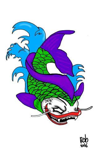 Joker Koi Fish