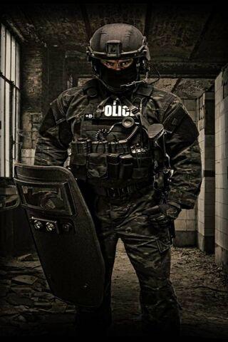 दंगा पुलिस