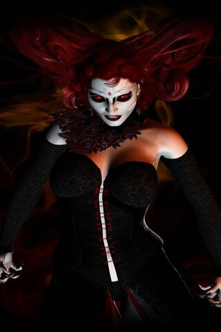 wicked grin psychopathic prostitute - 320×480