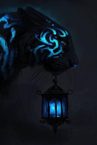 Blue Tiger S Light