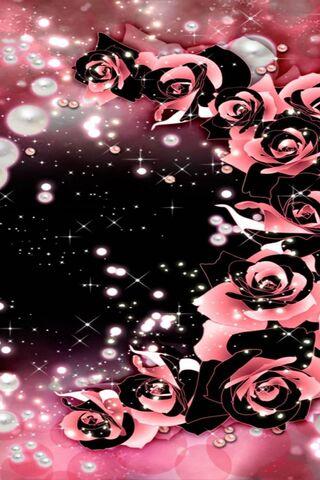 Rosas arremolinándose