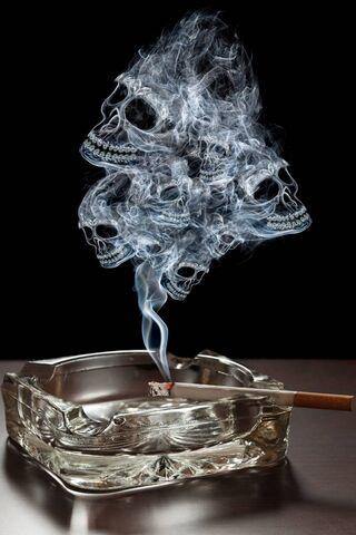 燃烧的香烟