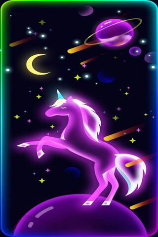 Unicorn Spaceglow