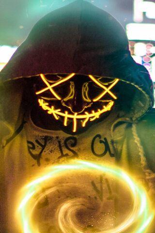 Yellow Masked Man