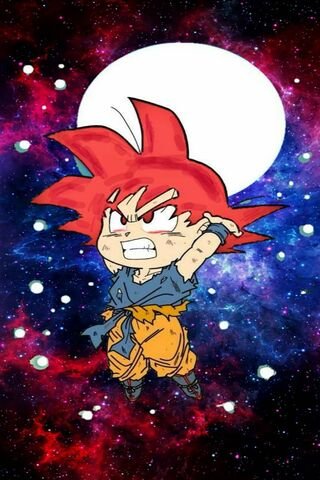 Goku Blue Mini Power