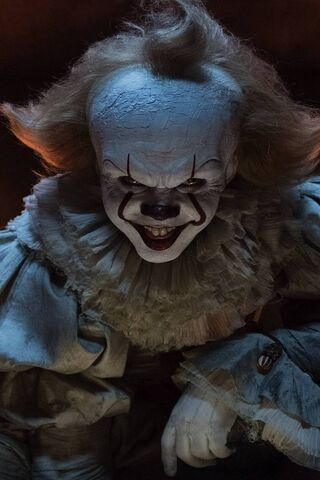 Clown Scary Photo