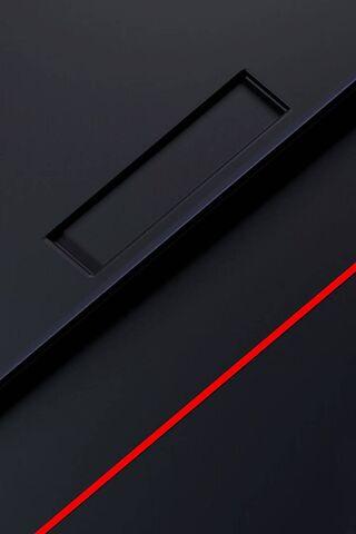 Hitam abstrak merah