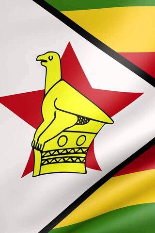 Drapeau zimbabwéen