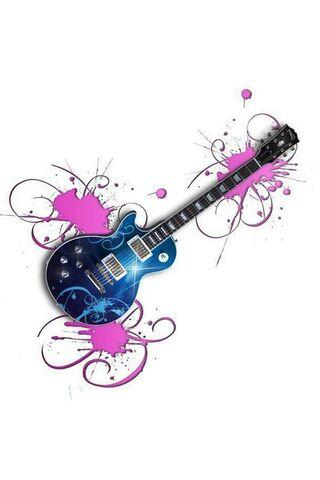 Gitar Biru
