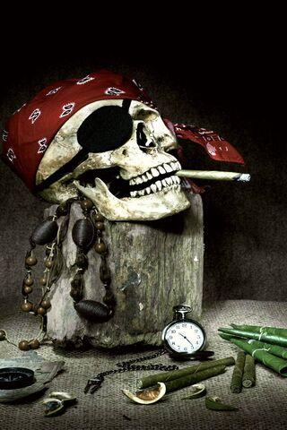 समुद्री डाकू खोपड़ी
